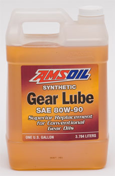 AMSOIL Synthetic Gear Lube SAE 80W-90 (AGL)