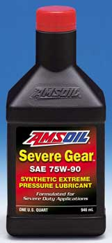 SEVERE GEAR® Synthetic Extreme Pressure (EP) Lubricant 75W-90 (SVG)